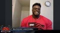 Blessing Awodibu On Monday Night Muscle