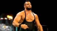 Michael Wardlow wrestling for All Elite Wrestling Dark