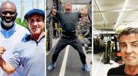 Actor Sylvester Stallone shares his instagram photos