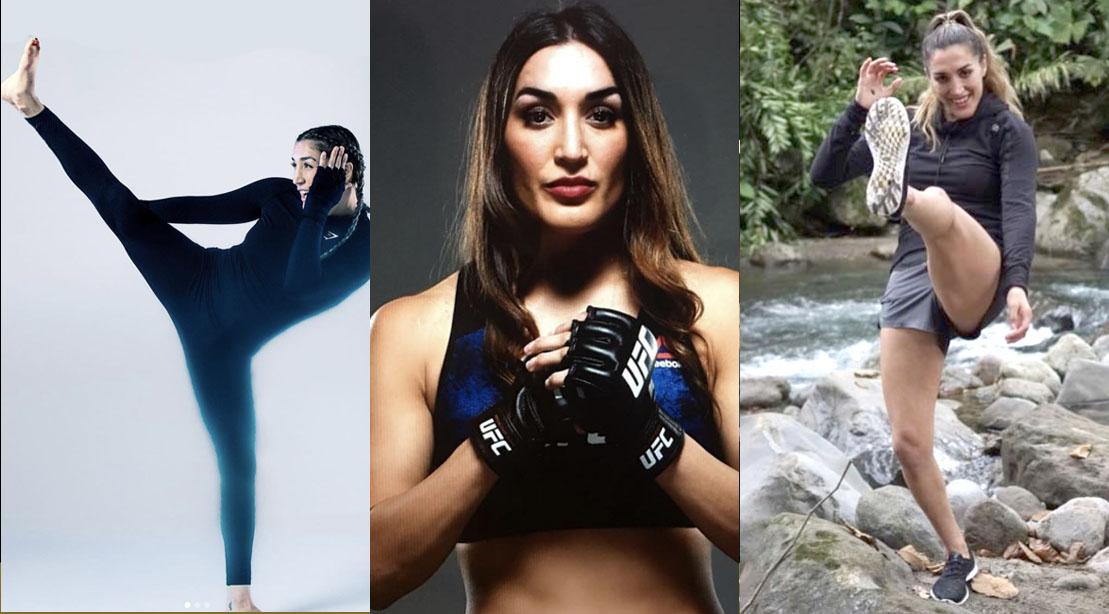 MMA and Female UFC Fighter Tatiana Suarez
