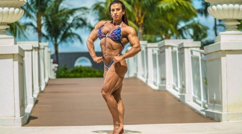 Bodybuilder and winner of the 2021 Puerto Rico Pro Women's Bodybuilding Division, Nadia Capotosto