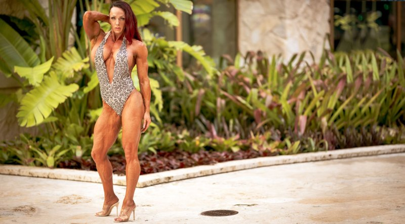 Bodybuilder and winner of the 2021 Puerto Rico Pro Women's Physique Division, Tanya Chartrand
