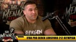 IFBB Pro Derek Lunsford 212 Olympian on The Menace Podcast