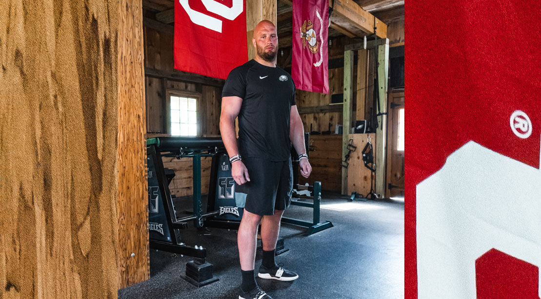 Lane Johnson Is Building Better Team Chemistry (and Bodies) at His 'Bro Barn'