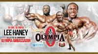 Legendary Bodybuilder Lee Haney as the 2021 Mr. Olympia ambassador