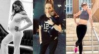 Becky Lynch pregnancy transformation