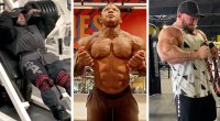 Top 212 Olympia contenders working out in preparation for Mr. Olympia Weekend