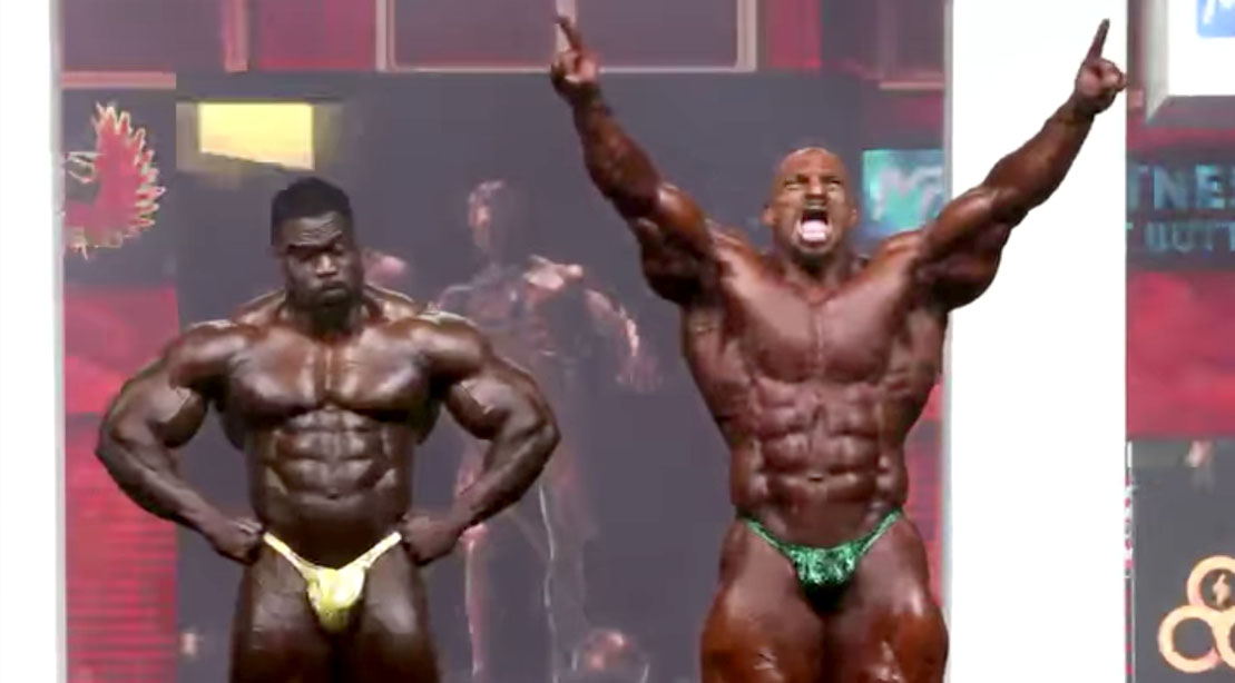 Big Ramy beats Brandon Curry at Olympia 2021