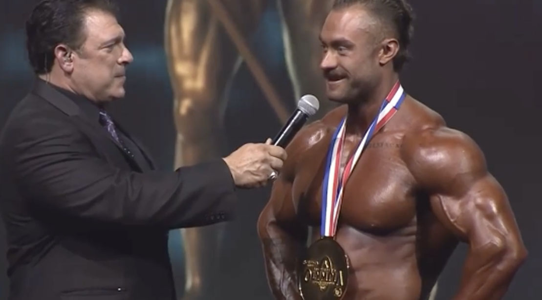 Chris Bumstead interview with Bob