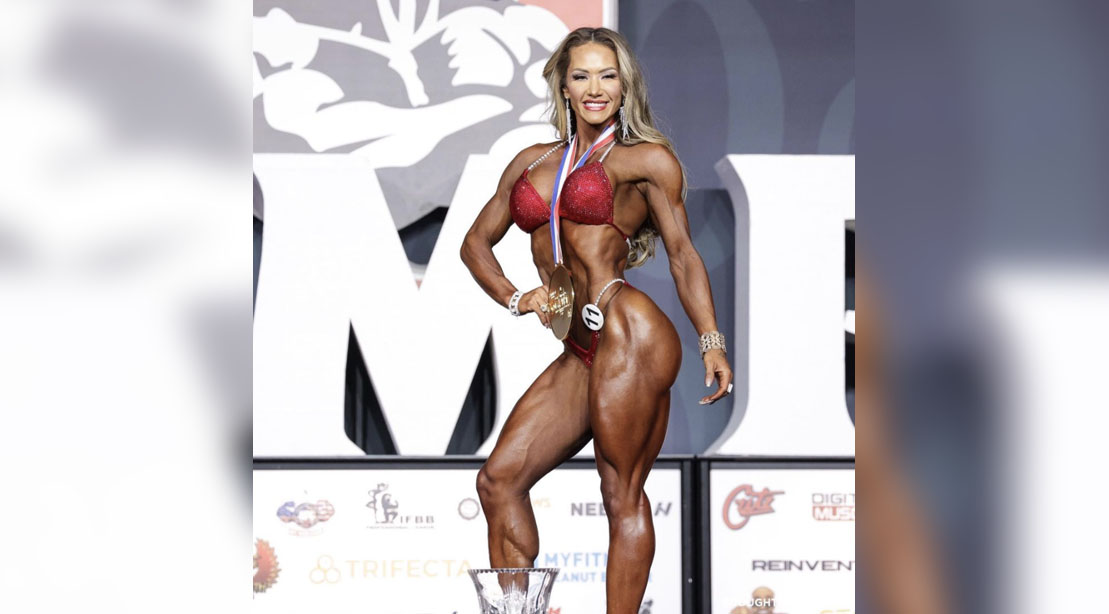 Francielle Mattos Wins The Wellness Division at Olympia 2021