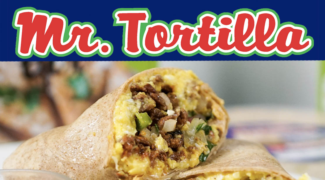 Mr. Tortilla and a healthy low carb buritto