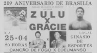 Rickson Gracie promotional flyer for his fight against King Zulu