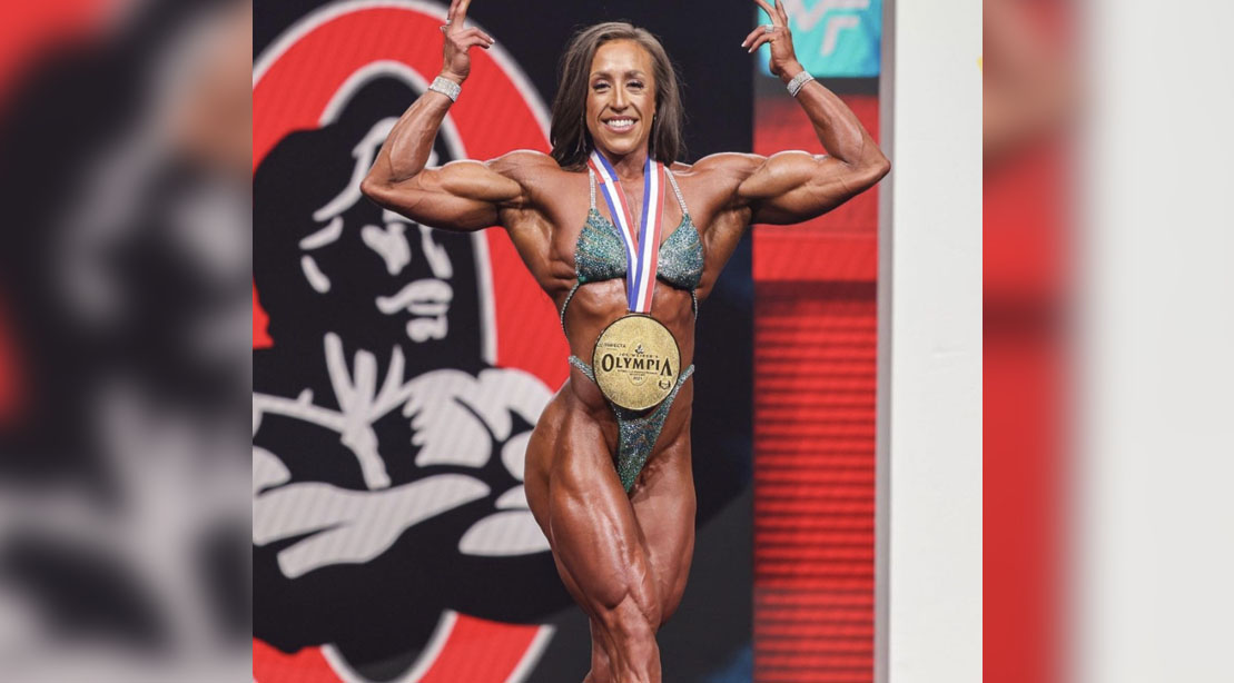 Sarah Villegas wins Women's Physique Division at Olympia 2021