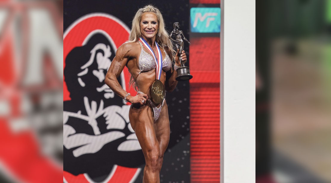 Whitney Jones Wins Fitness Division Olympia 2021